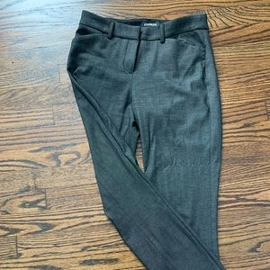Express mid rise skinny trousers size 2